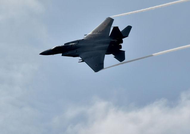 日本F-15架戰鬥機