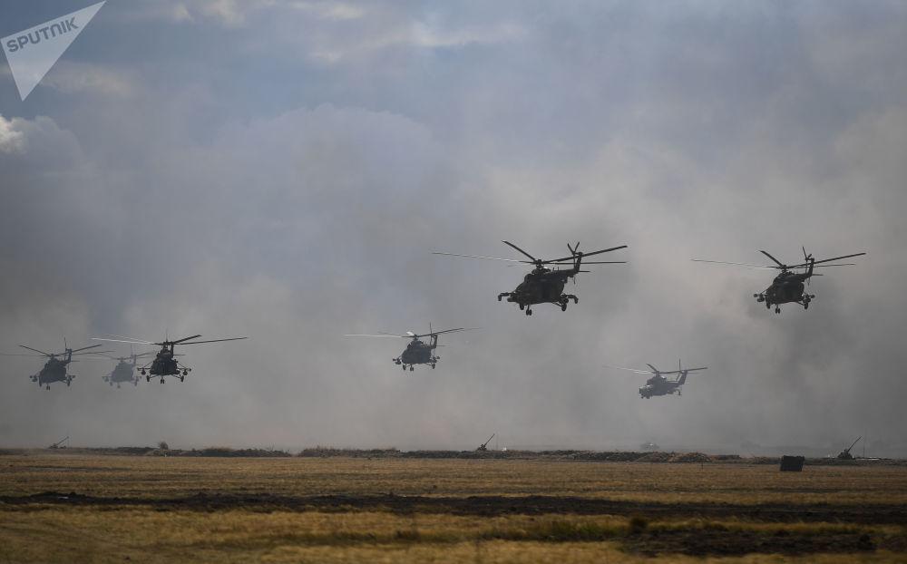 來自八個國家的約12.8萬名軍人參加了此次大規模演習。