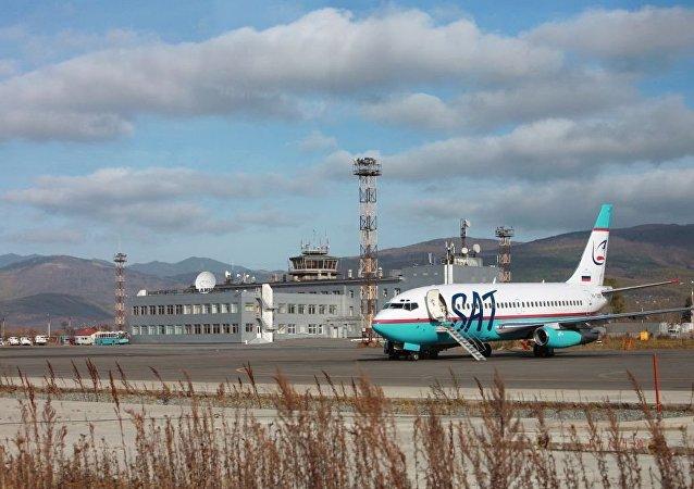薩哈林州恢復蘇聯機場系統