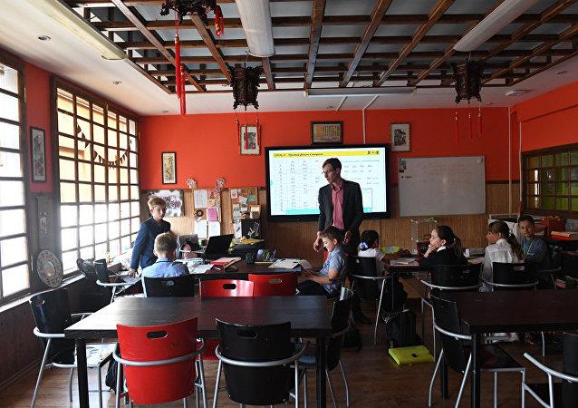 中文班通常有7-10名學生