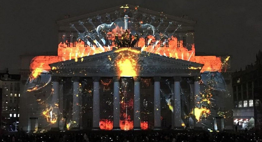 莫斯科「光環」燈光節