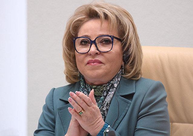 馬特維延科第三次任俄聯邦委員會主席