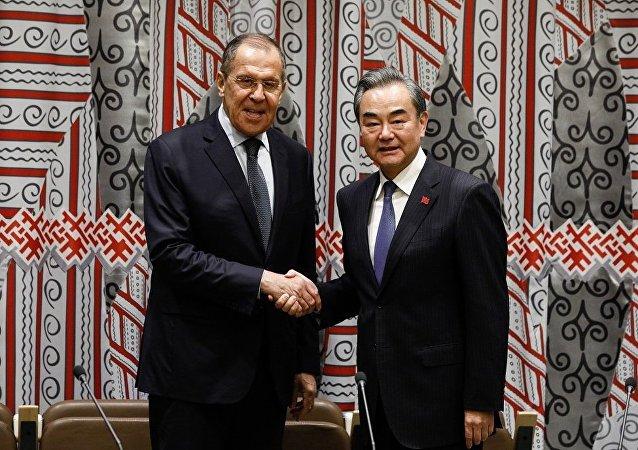 俄外長與中國外長在聯大會議期間舉行會晤