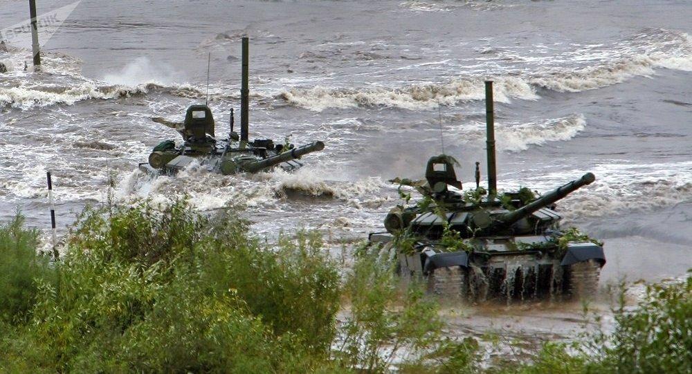 坦克如何在水下行駛