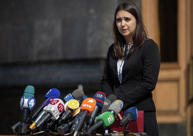 烏克蘭總統新聞秘書尤利婭•門德爾