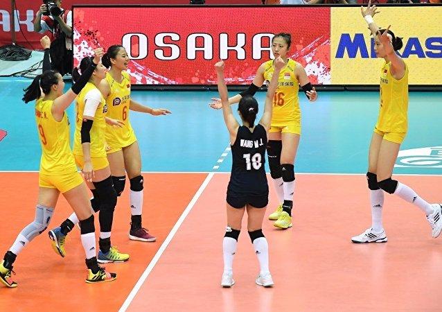 中國女排提前衛冕世界杯