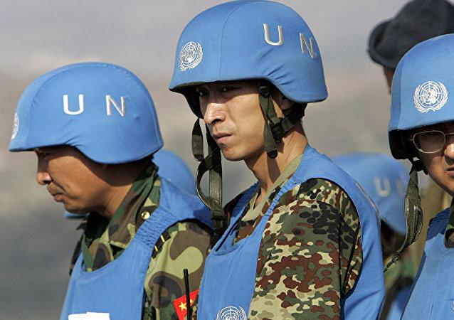 中國維和部隊隊員
