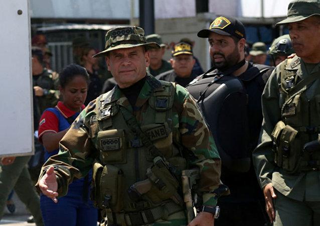 委內瑞拉戰略行動司令部指揮官雷米希奧•塞瓦略斯