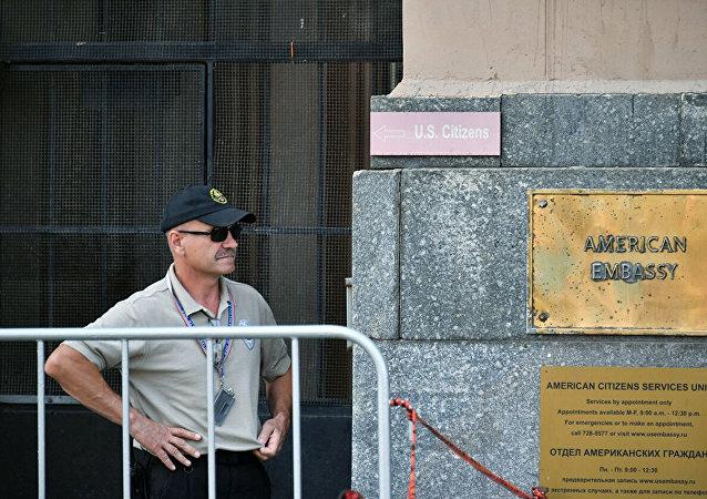 美駐俄使館評論拉夫羅夫關於將衝突「清零」的發言