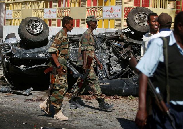 索馬里安全部隊(資料圖片)