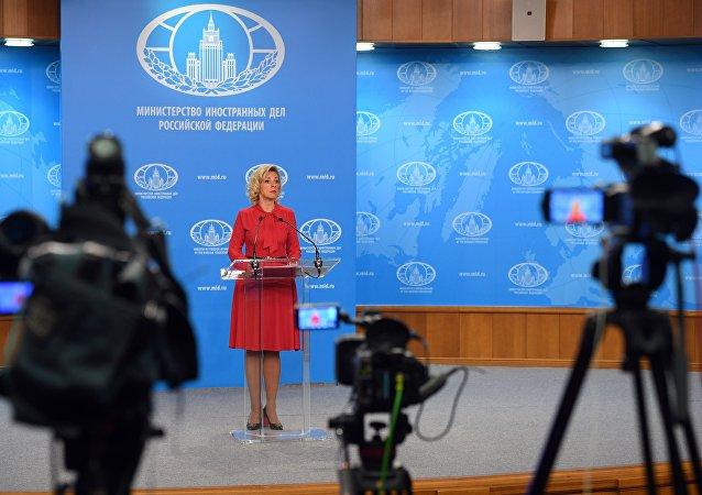 俄外交部發言人扎哈洛娃