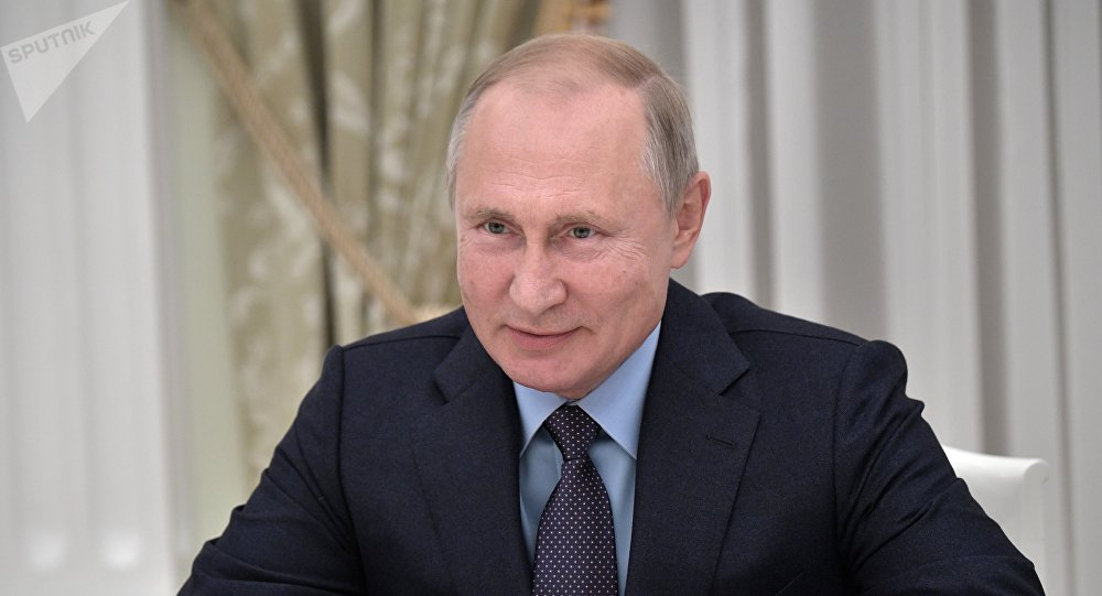 普京向習近平發賀電祝賀俄中建交70週年