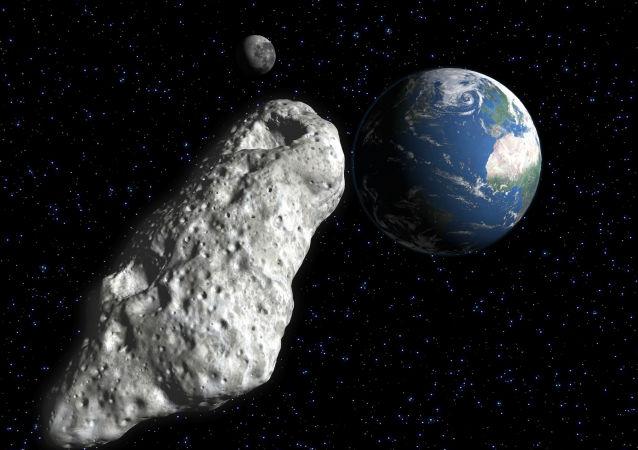 俄科學家認為近地小行星撞擊地球概率微乎其微