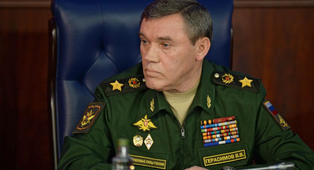 俄聯邦總參謀長和土耳其武裝部隊總參謀長討論敘利亞局勢