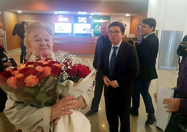 中國成立70週年慶祝活動給「友誼勳章」獲得者庫利科娃留下深刻印象