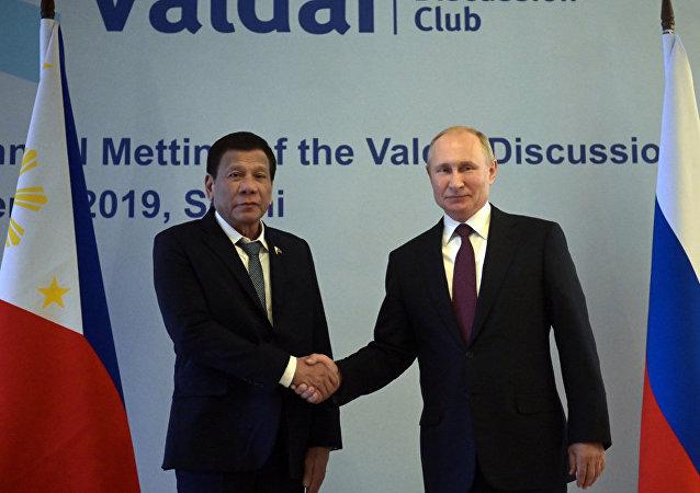 俄羅斯擬與菲律賓發展反恐合作