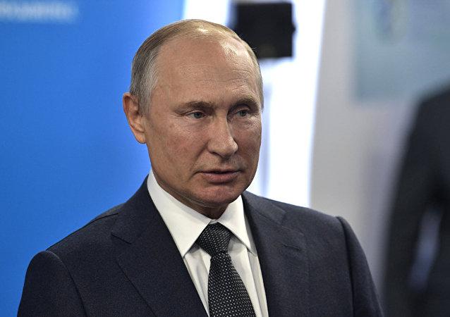 普京:指責俄干涉美大選是向特朗普施壓的藉口