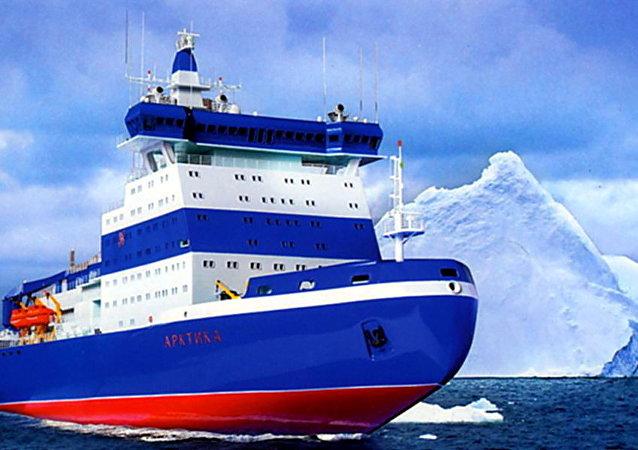 「北極」號核動力通用破冰船