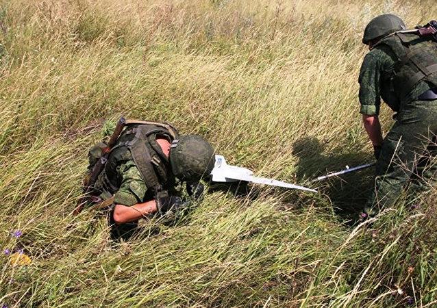 盧甘斯克人民共和國稱擊落烏克蘭安全部隊偵察歐安組織巡視頓巴斯的無人機