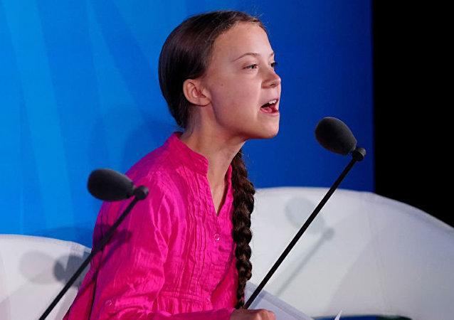 瑞典環保少女桑伯格