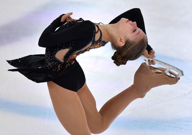 俄羅斯花滑選手亞歷桑德拉·特魯索娃