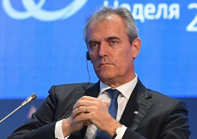 奧地利石油天然氣公司(OMV AG)總裁塞勒
