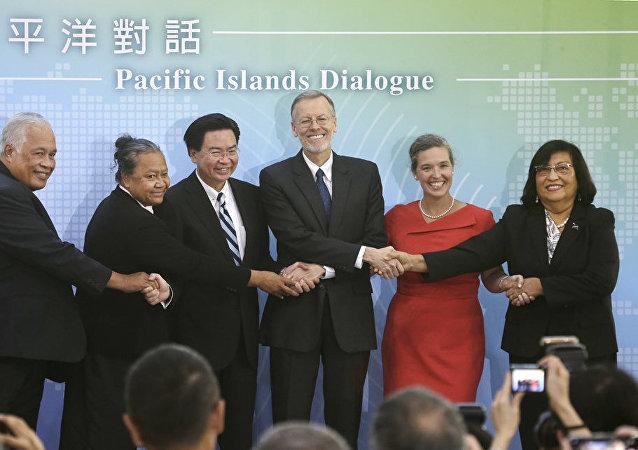 為甚麼美國與台灣提升政治接觸級別?