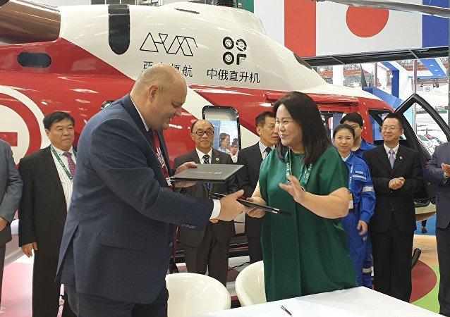 俄羅斯直升機集團公司將向中國交付首批2架安薩特直升機