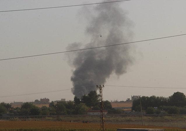 敘利亞大馬士革郊區遭火箭彈襲擊