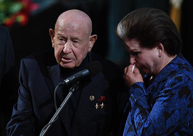 宇航員培訓中心新聞處發佈消息稱,蘇聯宇航員阿列克謝·列昂諾夫去世