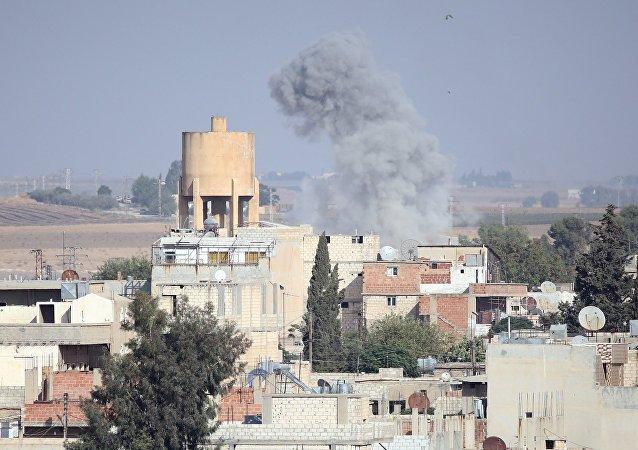 土耳其軍方在敘利亞