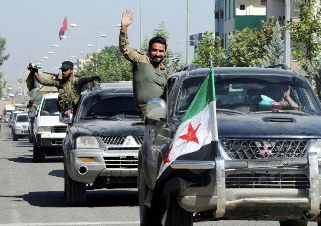 敘政府軍抵達艾因角東北方的敘土邊界