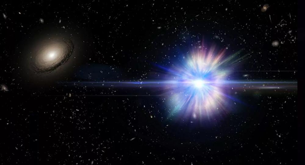 俄太空望遠鏡拍攝到銀河系中心中子星上的熱核爆炸