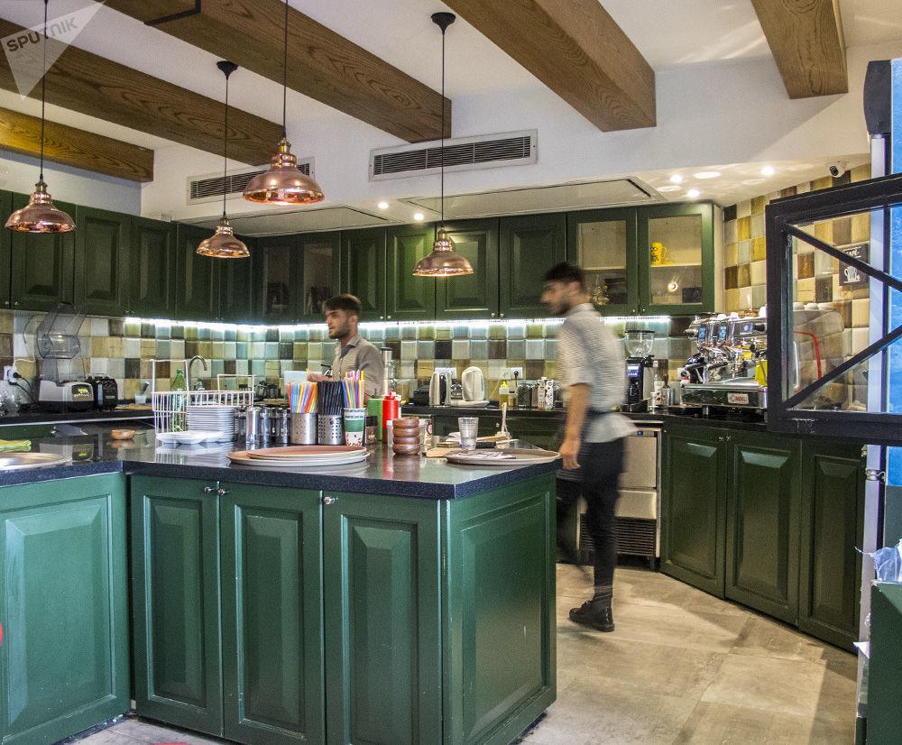 德黑蘭俄式咖啡館