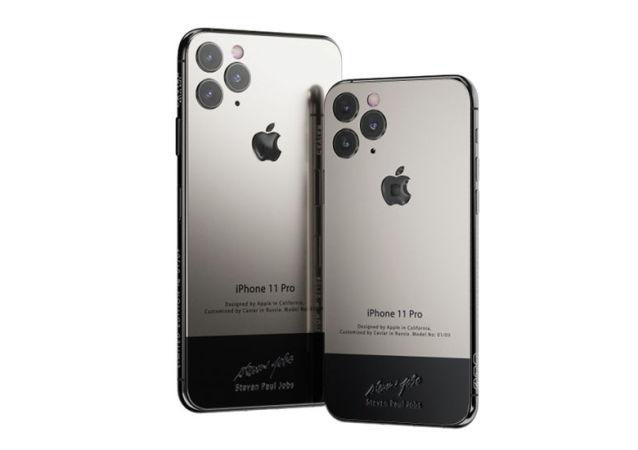 俄羅斯推出喬布斯定製版iPhone