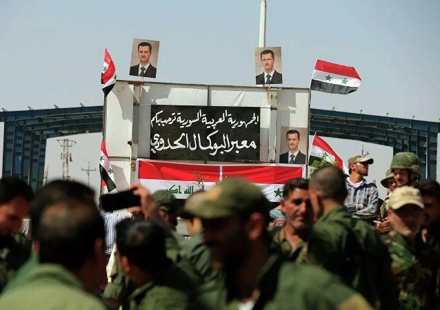 伊拉克-敘利亞邊界過境點