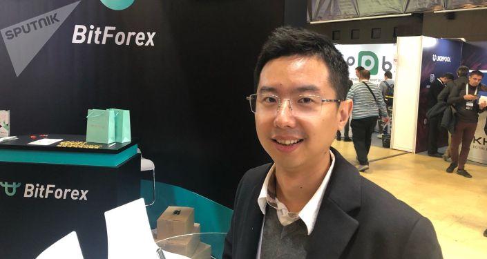 世界大型數字加密貨幣交易所BitForex創始人兼首席執行官加勒特•金(Garrett Jin)