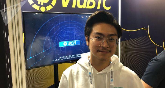 中國最大的礦池ViaBTC創始人許浩揚
