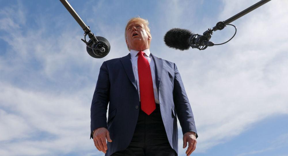 特朗普稱對共和黨有關「彈劾騙局」的報告很滿意