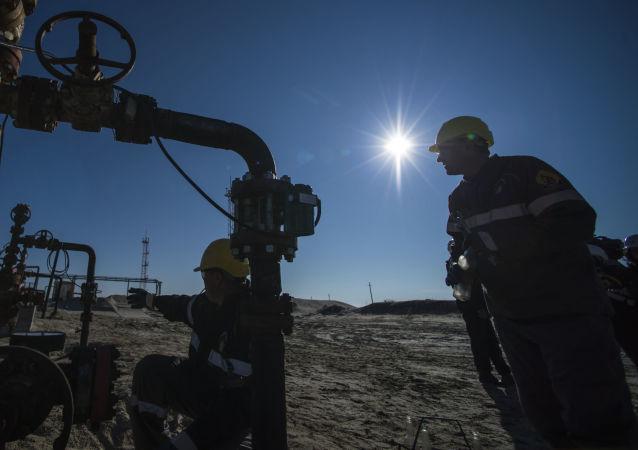 天然氣開採