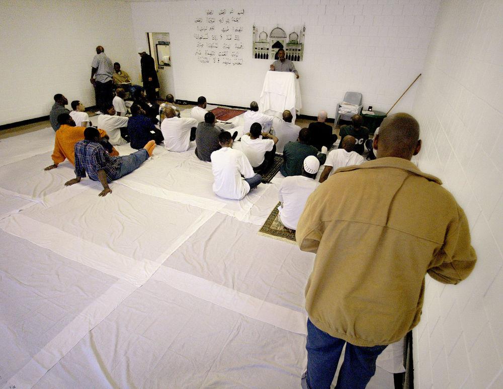 監獄里的祈禱室