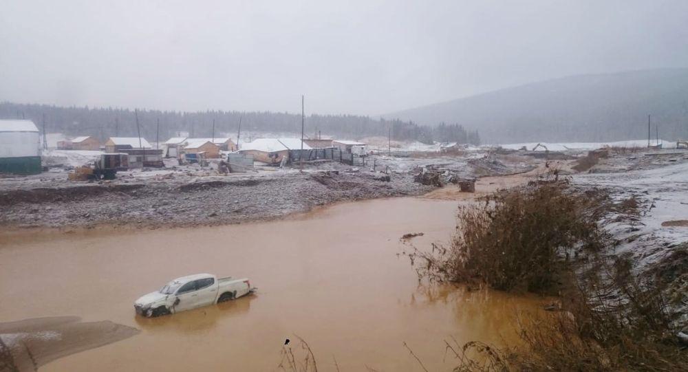克拉斯諾亞爾斯克邊疆區決堤事故中有6人失蹤
