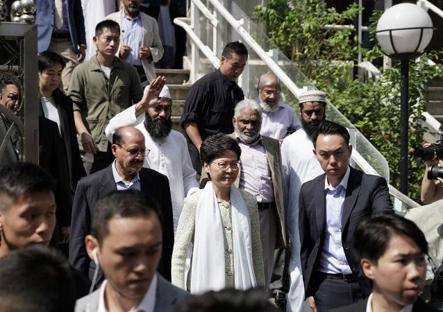 香港政府為水炮殃及清真寺道歉