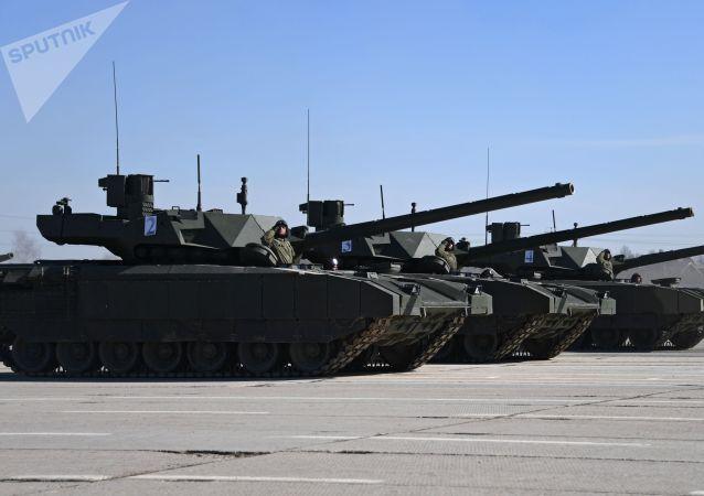 「阿爾瑪塔」VS其他現代坦克