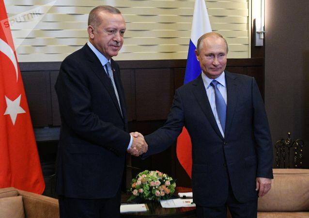 俄土兩國總統在柏林舉行會談