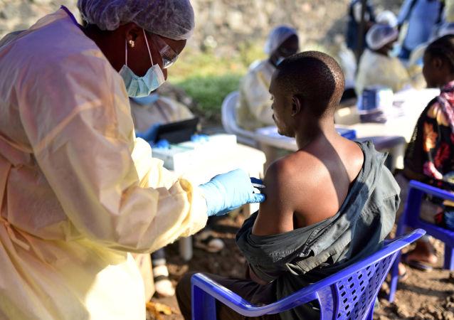 埃博拉疫苗接種(剛果)
