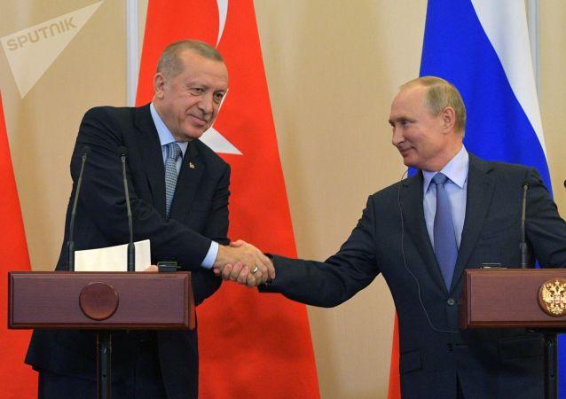 西方媒體稱普京和埃爾多安的會談結果是美國的失敗