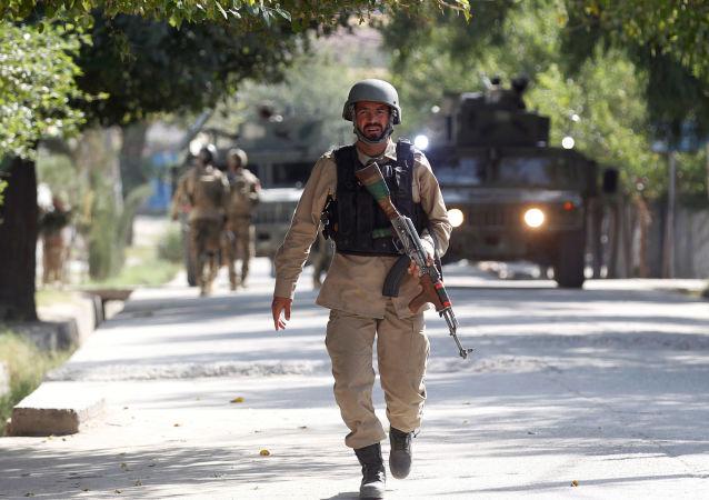 阿富汗安全部隊人員