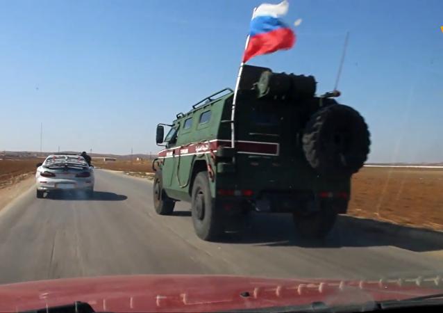 俄羅斯軍警佔領科巴尼高地