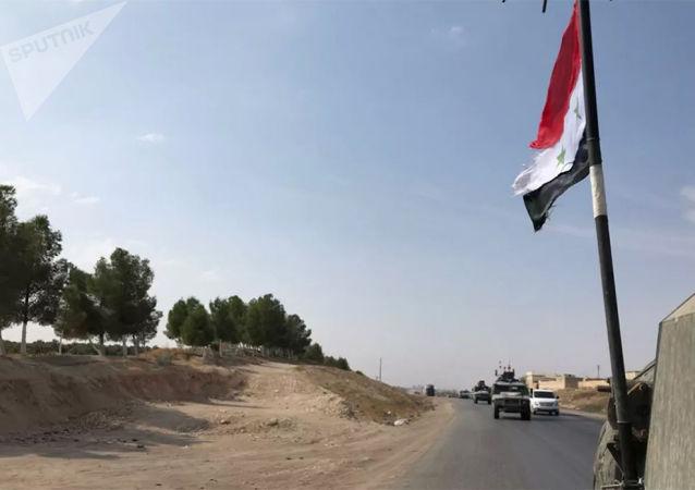 俄駐敘調解中心:俄軍警繼續在敘哈塞克省的巡邏